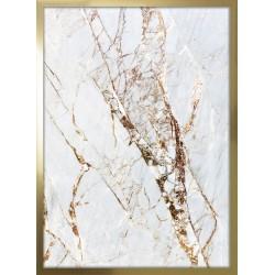 obraz white marble