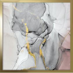 obraz pastelowa abstrakcja