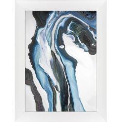 obraz blue lava