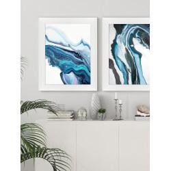 Obraz blue lava I