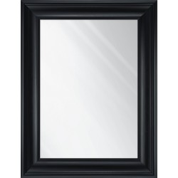 lustro czarny mat