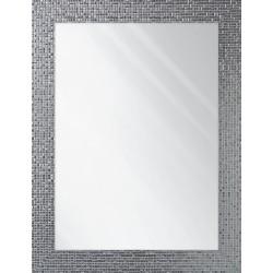 lustro valencia srebrny