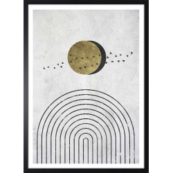 grafika do salonu spa z ptakami