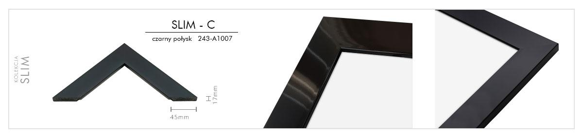 slim-c czarny połysk