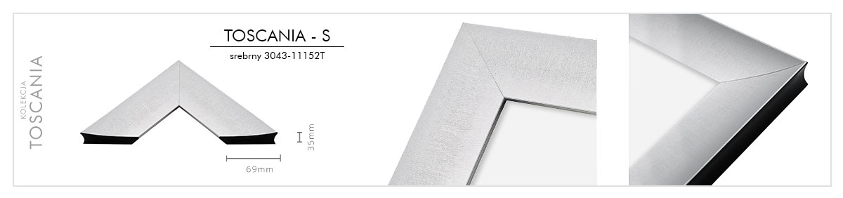 toscania srebrny